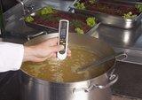 Meten voedseltemperatuur met probe