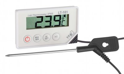 LT101 thermometer met display